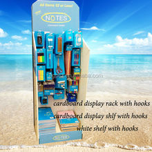 Hot sale lightweight custom point of sale display rack/display rack hook/library display rack