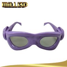 virtual reality 3d polarized video glasses