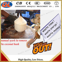 automatic stainless steel coconut peeling machine with lowest price