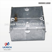 3*3 British Standard 1Gang Electrical Junction box