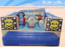 jumping castle/ excellent quality cartoon inflatable combo for kids castle with good quality /inflatable castle /inflata