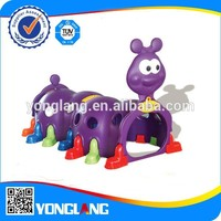 New Caterpillar Type Kids Toy Plastic Play Tunnel