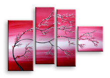 arrival hotel decor and club decor canvas oil paintings