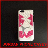 jordan pink and white cute cell phone cases for cell phone 5 5s 6 6 plus