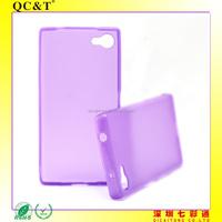 New Mobile Accessories Durable Inner Scrub Soft TPU Phone Case Cover for Sony Z5 Compact Z5 MINI E5803 E5823 s60