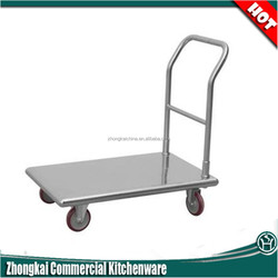 portable/safety/zhongkai brand stainless steel trolley cart
