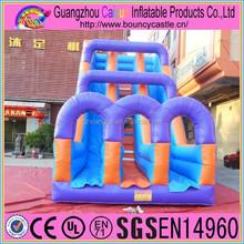 2015 Regenbogen Double Slide Inflatables