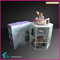 Makeup & Cosmetic Organizer Spins for Easy Access to all your Beauty Essentials