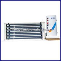 2015 New design U pipe Vacuum Tube Solar water heater for Euopean Market