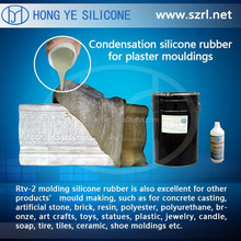 Pouring molding silicone rubber