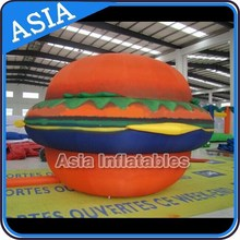 Giant Inflatable Pizza Replica/ Inflatable hamburger model for advertisement