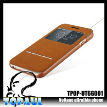 Hot Sales! High Quality Retro Stand Flip Leather For iPhone 6 5.5 inch