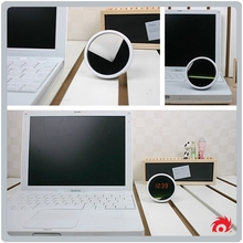 Creative Digital Electrical Gift Beautiful Ladys Small LED Desk Table Make Up Mirror Alarm Clock