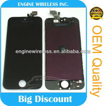 for iphone 5 lcd jt digitizer with assembly ,Top quality original new