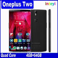 Original Oneplus Two Oneplus 2 Smart Phone Snapdragon810 Octa Core 5.5'' 1920x1080 4GB RAM 64GB ROM Fingerprint ID