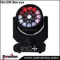 19x12w clay paky k10 b eye K20 osram led lights bee eye moving head