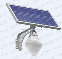 solar street light with 10w lamp and 25w solar panel