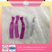 Goods from china Girl elastic band with metal barbs