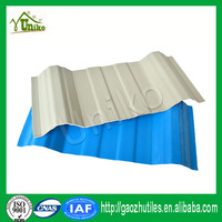 expanded blue anti uv pvc roof edge tile with CE certificate