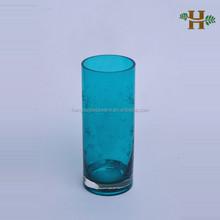 heißer verkauf mundgeblasenem geschnitzte blume vase für dekorative