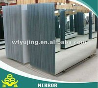 3mm clear aluminum mirror double coat