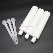 300ml 2:1 one component adhesvie empty plastic silicone sealant cartridge