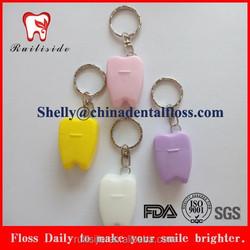 blister card packing keychain dental floss