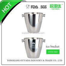 stainless steel ice cooler bucket