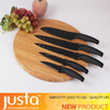 JUSTA 2015 new spray -paint black blade non-stick knife