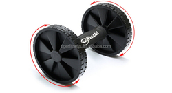 exercise black ab small plastic roller wheel