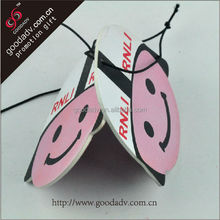 OEM air freshener card / paper car air fresher for promotional gifts