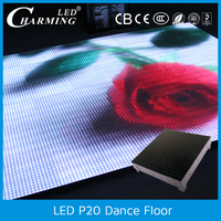Transparent Frosted acrylic cover dance floor