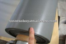 tela de la pantalla de proyección/pantalla perforada/trasero de proyección de la película/3d plata tela de la pa