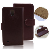 wallet flip leather phone case for samsung i9295 galaxy s4 active