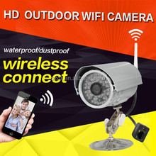 H.264 HD 720P Outdoor CCTV Wifi P2P IP Camera Support NVR Andriod Iphone