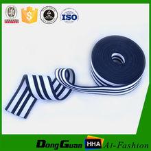 Colored Stripe Twill Woven Elastic Band