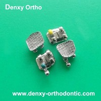 OEM dental teeth brace Metal Dental Brackets Orhtodontic