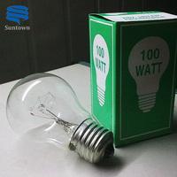 Traditional 25W 40W 60W 75W 100W 220v incandescent light bulbs