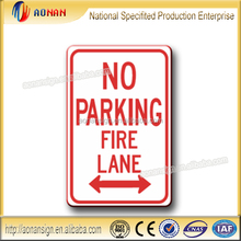 NO PACKING FIRE LINE Aluminum Reflective NO PACKING traffic sign board Direction