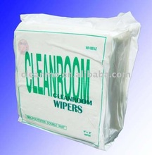 100% Polyester Cleanroom Cloth(used for electronics,semiconductor,hard disk drive,optics-electronic))
