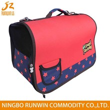 RW SGS Approved red cardboard pet carrier