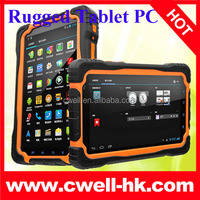 7 inch MTK6589 quad core 3G Rugged android tablet PC with GPS