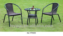 garden coffee shop table and chairs cafe furniture set YPS028