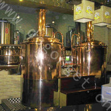 300L craft used hotel red copper beer equipment and beer brewing equipment