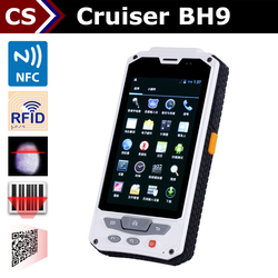FQ500 NFC 4.3 inch barcode reader Cruiser BH9 China rugged RFID android tablet pc