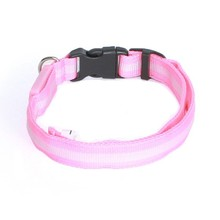 New and hot sale flashing Nylon Pet collar LED Dog Collar