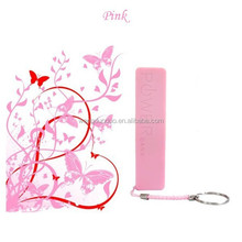 Portable new gift items power bank perfume for laptop