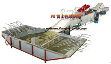 Fruit and vegetable cleaning,waxing and sorting machine