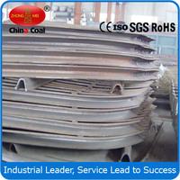 U channel steel support