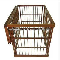 New eco-friendly natural bamboo pet cage